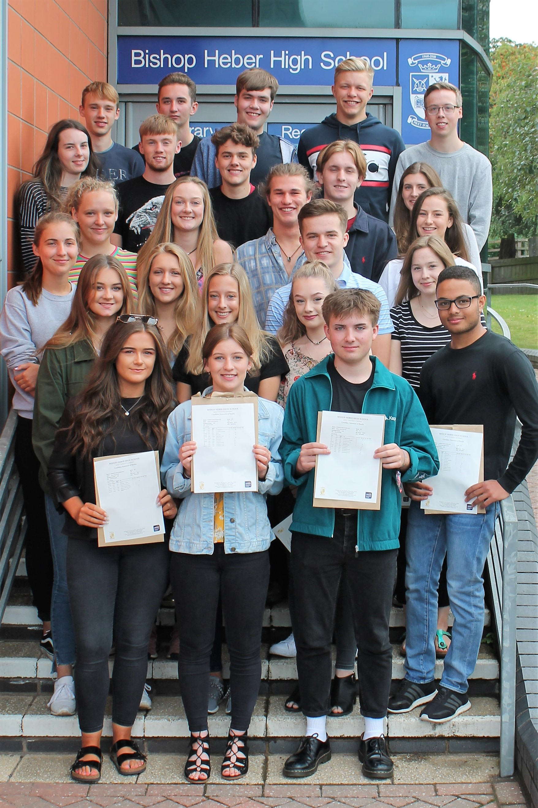 A-Level Students are celebrating another set of consistently excellent results