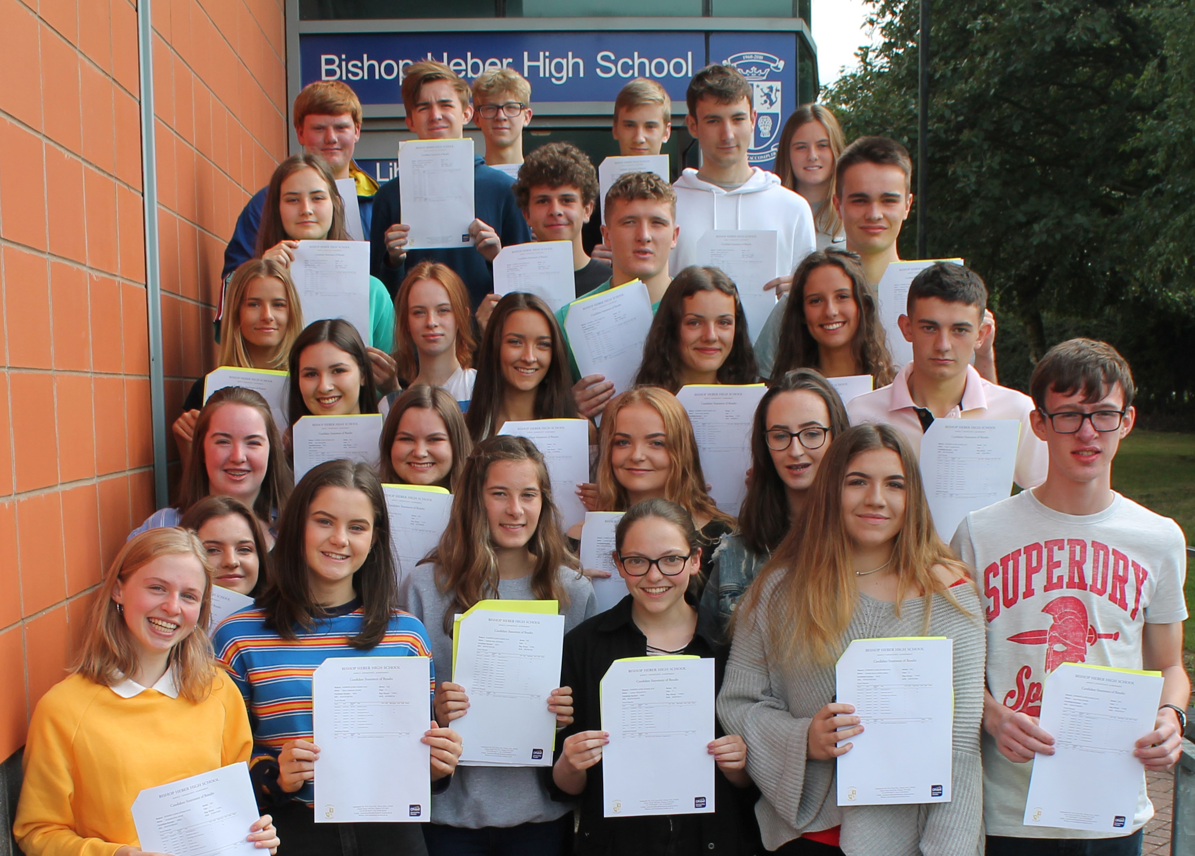 Students, staff and parents are celebrating outstanding results in the new 9-1 GCSE examinations