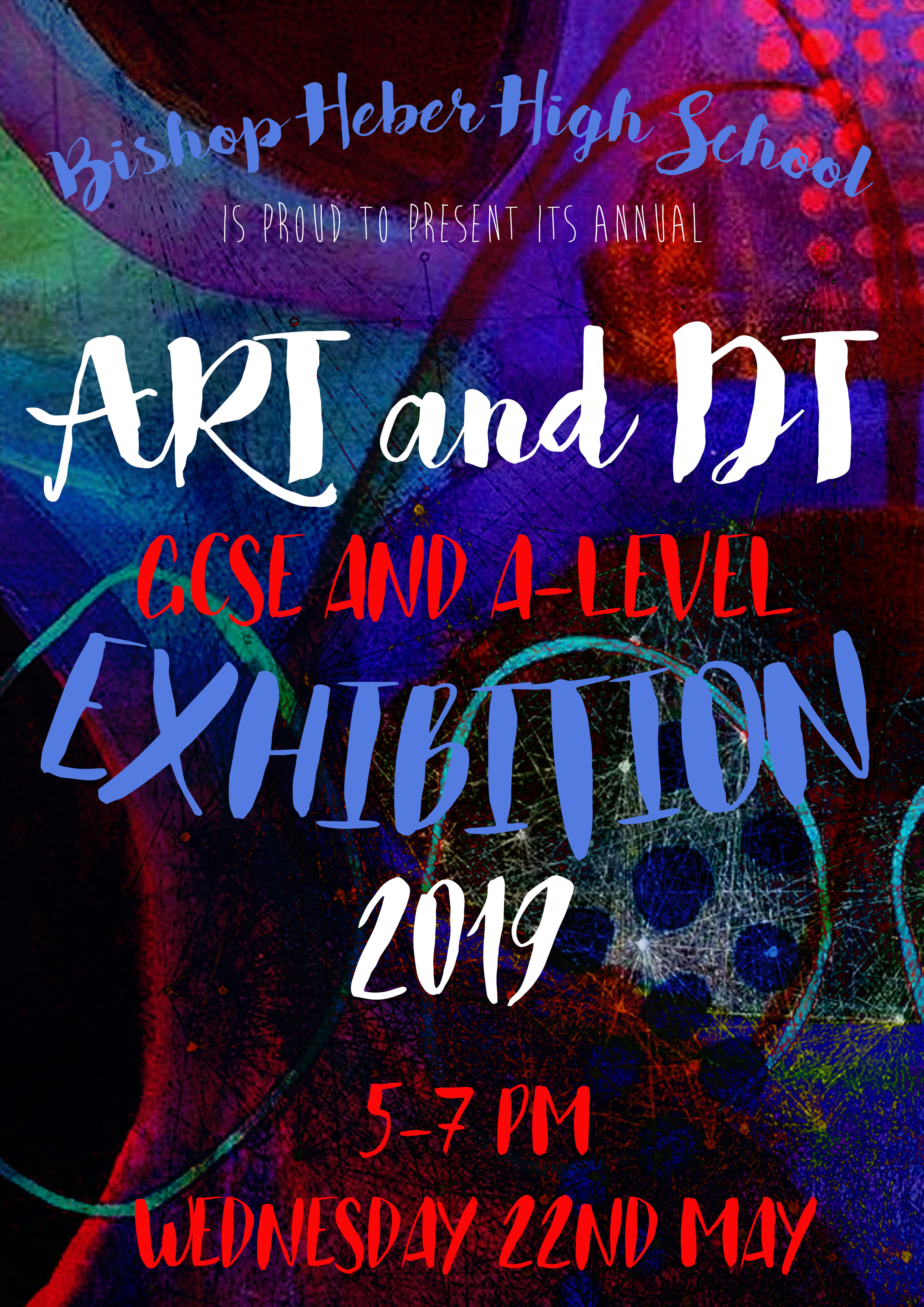 Art & DT GCSE and A-Level Exhibition 22nd May 2019